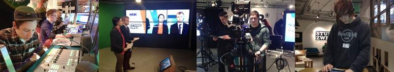 Die AS3O2 in der Medienwerkstatt des WDR