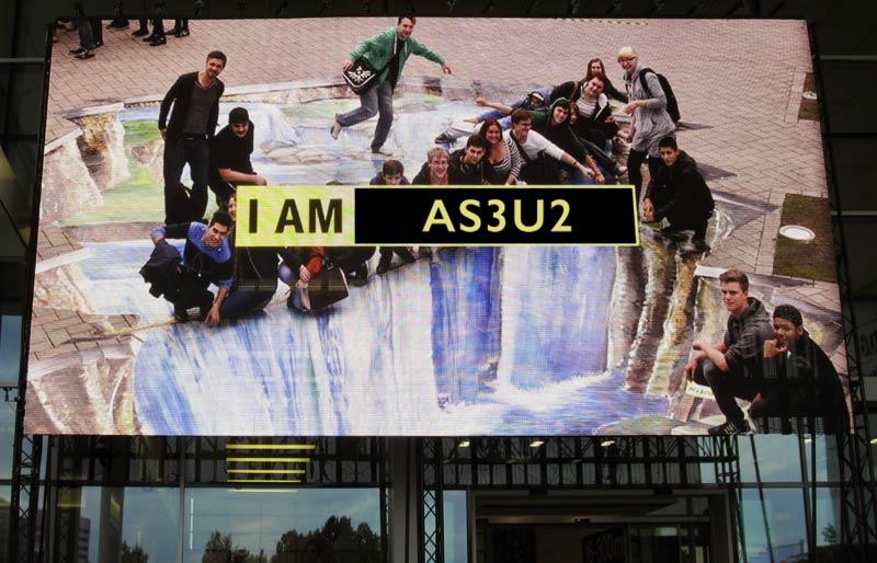 Die AS3U2 auf der Photokina