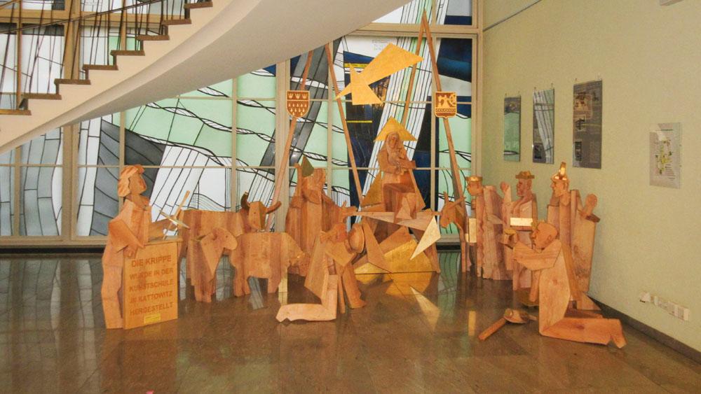 Kreativer Krippenbau: Polnische Partnerschule in Köln aktiv