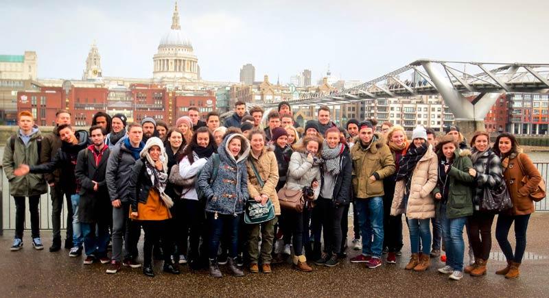 Klassenfahrt der G12 nach London (2015)