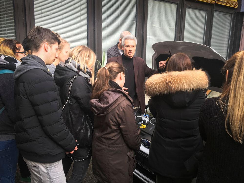 Das Berufliche Gymnasium im Praxistest: Besuch der Technischen Hochschule Köln