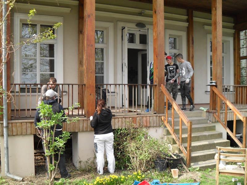 """Renovierungsarbeiten am """"Berghaus"""" – geheimer Tagungsort des """"Kreisauer Kreises"""""""