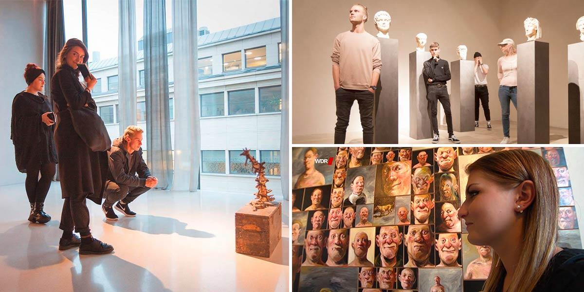Impressionen von der Kolumba-Ausstellung 2018
