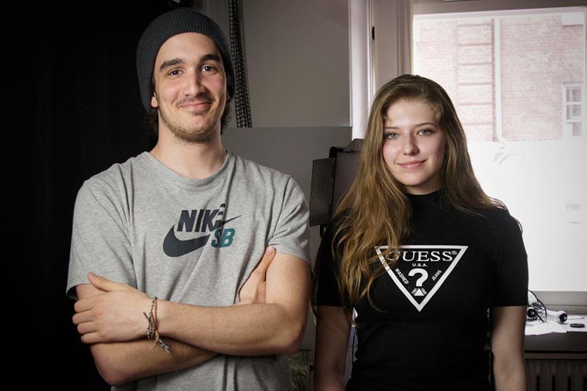 Victoria Pittelkow und Valentin Greiner aus der AS3M2